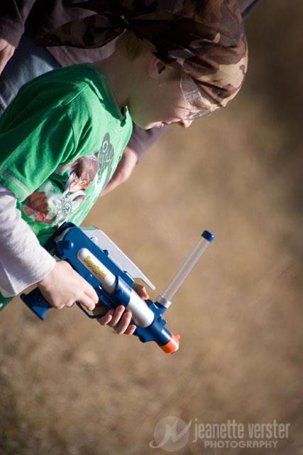 Дети и пейнтбол: учимся, играя